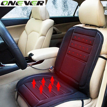 Onever Winter Car Heated Seat Covers 12V Cigarette Lighter Electric Heating Pad  Universal Car Heated Seat Cushion