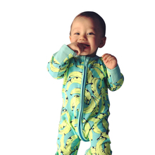 2017 fashion spring children's rompers baby cartoon banana pattern thicken outwear one pieces body suits for boy girl yellow