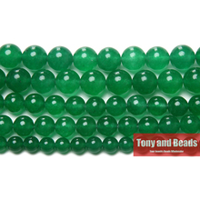 Free Shipping Natural Stone Green Jadee Loose Beads 6 8 10 MM Pick Size for Jewelry Making No.JD5