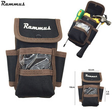 Rammus Storage Tools Bag Mini Tool Bag Oxford Canvas Multifunctional Bag For Small Tools Drill Blit Screwdriver Hammer(China)