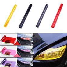 30x180cm Auto Car Tint Headlight Taillight Fog Light Smoke Film Sheet Sticker Cover Car Lights Change Color Lamp Protection Film(China)