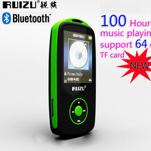New Original RUIZU X06 Bluetooth Sport MP3 Player with 1.8Inch Screen can player 100Hours high quality lossless Recorder FM