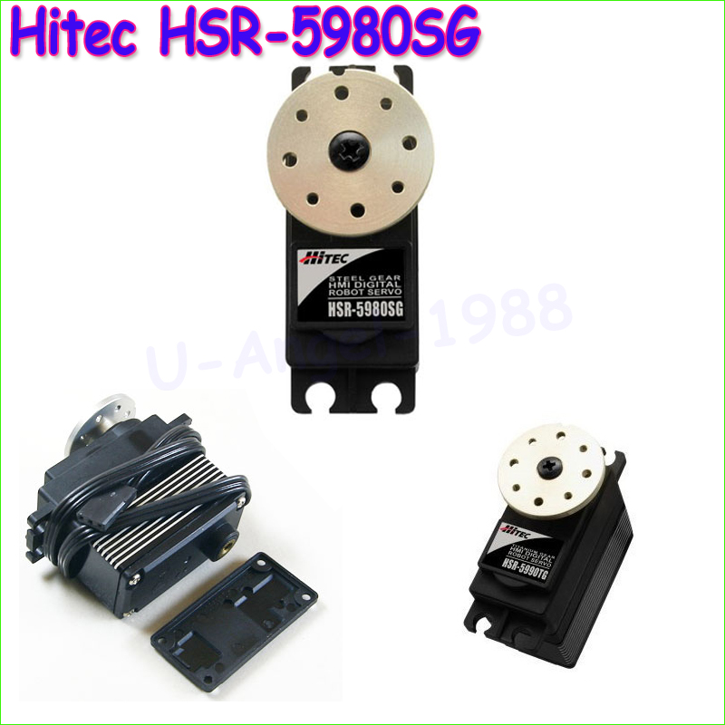 1pcs 100% Original Hitec HSR-5980SG Digital HMI High Torque Robot Servo HSR5980SG/5980<br><br>Aliexpress