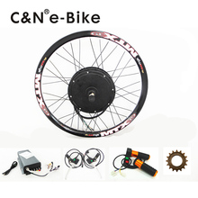 100km/h High Speed 72v 3000w Electric Motorcycle Kit 3kw Electric bike conversion kit