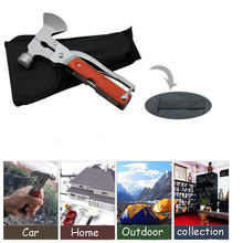 Multifunctional Pliers Ax/Screwdriver/Safety Hammer/Camping Tool