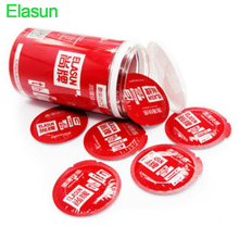 Buy Elasun 20pcs Ultra Thin natural latex condoms penis sleeve condom extender sex toys men