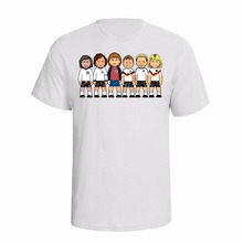 New 2017 100% Cotton Funny Print T Shirt Men Hot Germany Deutschland Footballer Legends Custom Made T Shirts