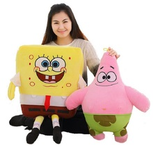 Kawaii SpongeBob Plush Toys and Patrick Star Plush Toys Cute SpongeBob Stuffed Doll Toys Children Kids Gift Sponge Bob Plush