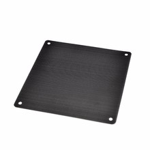 5pcs/lot 12CM Computer Mesh Black PVC PC Case Fan Cooler Dust Filter Dustproof Case Cover,120x120mm()