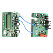 Hot ZXY6020S NC DC-DC Power Supply Module Programmable+1xcontrol module+1 x 6P cable+2xlarge current connect line 60V 20A 1200W