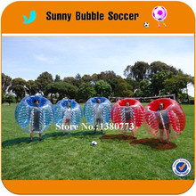 Free shipping 1.5m Giant bumper bubble ball football zorb, inflatable belly loopy ball(China)