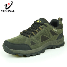 VESONAL Brand Fashion Walking Sneakers 대 한 Male Men Shoes 성인 2018 Autumn 고무 높이 증가 Patchwork 신발쏙 ~ 품질(China)