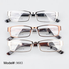 9683 spring hinge full rim metal eyewear optical frames glasses  Prescription spectacles