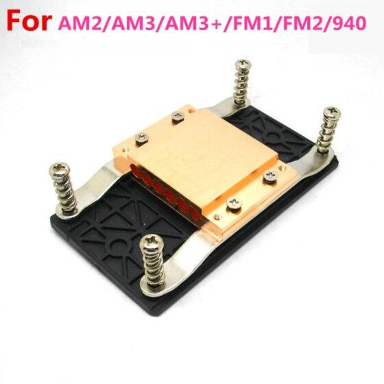 For AMD AM3 AM3+ AM2 FM1 FM2 Computer CPU Cooler heat sink copper block heat pipe radiator hole diameter 6mm<br>