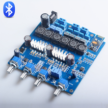 K.GuSS Assembled TPA3116 2.1 Bluetooth CSR 4.0 Class D AUDIO power amplifier Completed board 50WX2+100W Free Shipping(China)