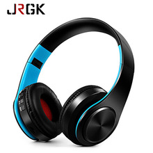Buy HIFI Stereo Bluetooth Headphone Music Headset Support SD Card Mic Xiaomi iphone Sumsamg Tablet Wireless Earphone Earbud for $15.97 in AliExpress store
