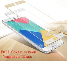 3D Full Cover Screen Tempered Glass For Samsung Galaxy A5 2016 A510F A510 A5100
