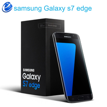 Original Samsung Galaxy S7 Edge 4G LTE Mobile Phone Octa Core 5.5 inch 12.0 MP 4GB RAM 32GB ROM NFC Smartphone S7 G935V/G935F(China)