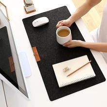Simple Warm Office Table Computer Mouse Pads Desk Keyboard Game Mouse Mat 630*330*3mm Table Mat for Game Player Mousepad