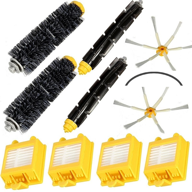 New Filters Beater &amp; Bristle Brush Side Brush 6 armed Pack Big Kit for iRobot Roomba 700 Series 6 Armed 760 770 780 Free Post<br><br>Aliexpress