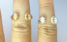 Cat Claw Ring  Animal Paw Ring Gift Jewelry--12Pcs/Lot(Gold/Silver 2 Colors Free Choice/Collocation)