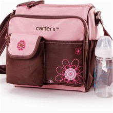 carter cute diaper bags mummy bags--two colors-bule and pink(China)