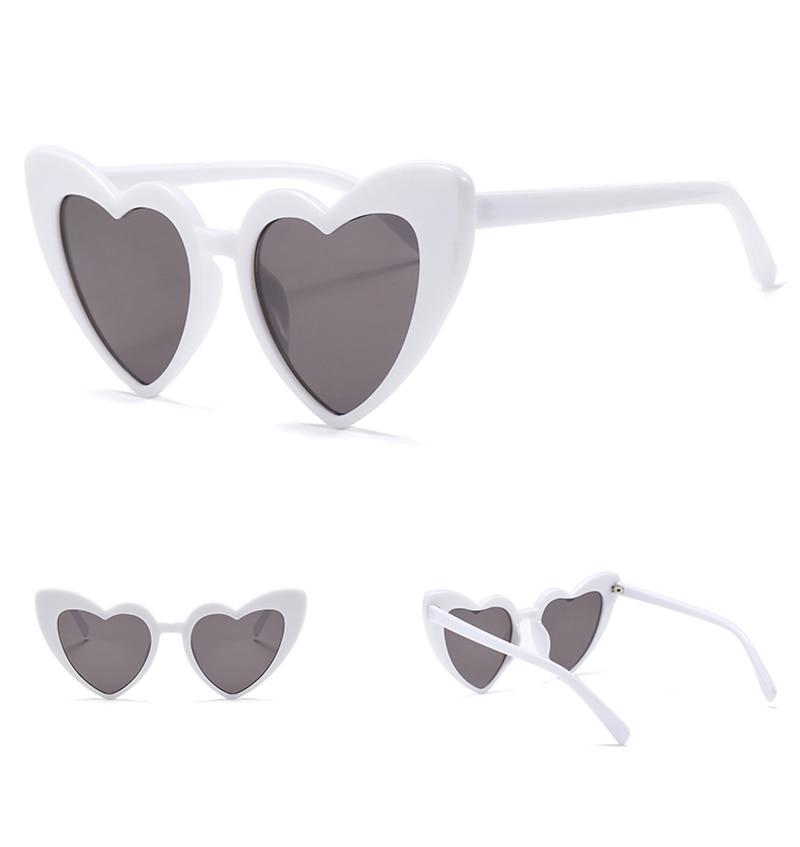love heart sunglasses women cat eye vintage 7112 details (5)