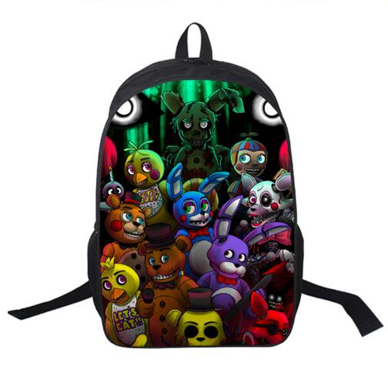 5ad8ace241 Five Nights At Freddy`s Backpack For Teenagers Girls Boys Children ...