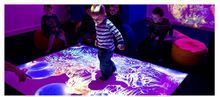 DefiLabs DEFI copyright Interactive floor Projection system for wedding, advertising, kids 130 different  effects