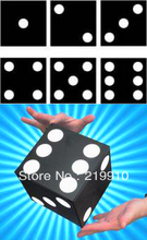 Free Shipping Automatic Square To Jumbo Dice Magic Tricks