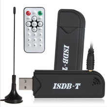 2016 HOT ISDB-T Digital TV Stick Video Recorder USB Tuner Receiver & Remote Control for TV for laptop