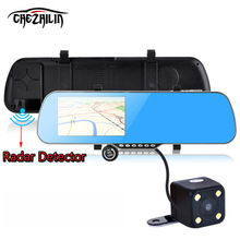 5 inch IPS Car GPS Navigation Rearview mirror Android 4.4 Allwinner A23 Quad-core 1080P DVR Rear view/Built in 8 GB