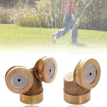 2 Nozzles 1 Nozzle Brass Metal Spray Garden Grass Lawn Impulse Water Sprinklers(China)