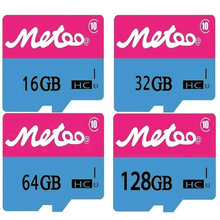 Metoo@ Ultra Micro Original TF SD Card 16GB 32GB 64GB 128GB Class10 300x UHS-1 2GB 4GB 8GB Class4 Flash Memory Card pass h2testw