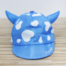 1Pc 2017 Fashion Lovely Spring Summer New Boys Girls Children Adjustable Cartoon Breathable Hats Baseball Hip-Hop Cap Sun Hat(China)