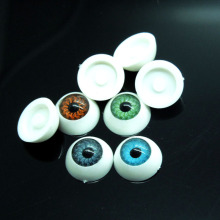 40pcs(20pairs) Half Round Plastic Doll Eyes Mix color BJD EYES, Doll Dollfie Eyes Eyeballs Wholesale 11mm