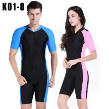 SBART Short Sleeve Triathlon Wetsuit Men Women Surfing Wet  Suit for Diving