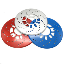JEAZEA 2pcs Car Universal Al 25cm Disc Brake Rotor Racing Covers Drum Decorative for BMW Audi Mitsubishi Honda Mercedes BENZ(China)