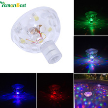 LemonBest Underwater LED disco Aquarium Glow Light Show for Pond Spa Hot Tub LED Swimming Pool Light Party night light 3AAA