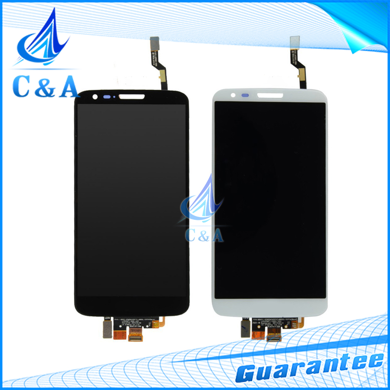 100% guarantee black/white replacement for LG G2 D802 lcd screen display with touch digitizer 5pcs/lot free DHL/EMS shipping<br><br>Aliexpress