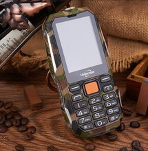 New 2G Unlock GSM Dual 2 Sim Mobile Phone High Power Dust-Proof Water Resistant Shock Proof Military Fashion Feature Cell Phone