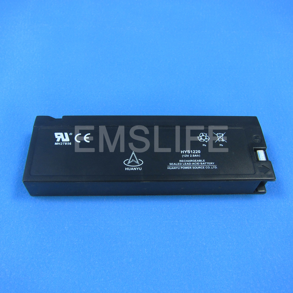 12V 2300mAh/2.3Ah lead acid battery for Mindray biolight nihon kohden biocare patient monitor<br>