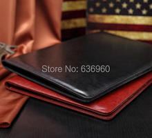 New hot A4 PU folder with calculator multifunction  folders sales manager folder contract signing folder free shipping