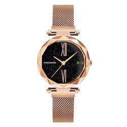 Женские водонепроницаемые наручные часы с магнитной застежкой