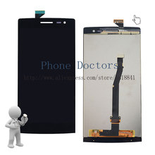 5.5'' Full LCD DIsplay + Touch Screen Digitizer Assembly Replacement For OPPO Find 7a X9007 ; Black ; New ; Free shipping
