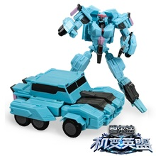 Free Shipping 10 Style Plastic Alloy Transformation Robots Car Deformed Action Figures Classic Toys For Children Christmas Gift(China)