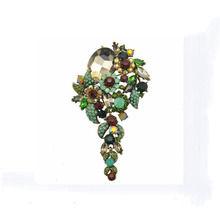vintage big Luxury big flower brooch corsage ornaments large brooches Valentine's Day gift jewelry costume jewelry brooches