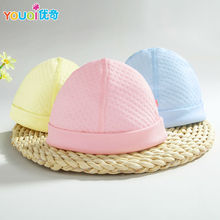 2Pcs/Lot Newborn Baby Cap Brand Cotton Quality Caps Baby Girls Boys Spring Autumn Winter Warm Cute Infant Hats For 0-3 Months(China)