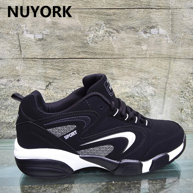 NUYORK 2018 classics women shoes winter Autumn running Cow Muscle Trend Of men sneakers lace-up Couple Lover shoe Spring<br>