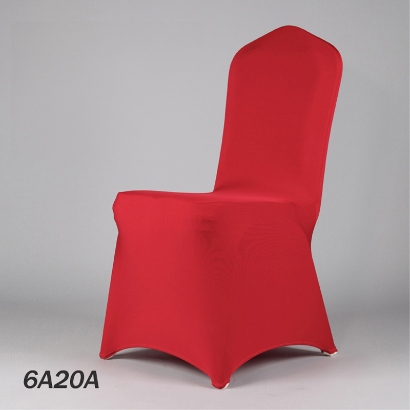 100PCS 50Color Wedding Chair Cloth Red Banquet Lycra Chair Cover Restaurant Wedding Seat Cover From Manufacturer(China (Mainland))